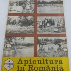 Revista/Ziar - REVISTA APICULTURA ÎN ROMÂNIA NR. 9 /1982