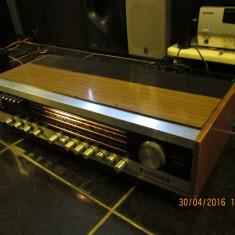 Amplituner vintage Grundig RTV 380 (final tranzistoare germaniu) - Amplificator audio, 0-40W