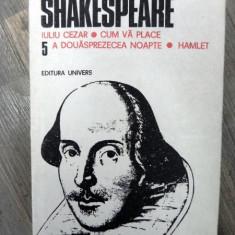Iuliu Cezar Cum va place A dousprazecea noapte Hamlet vol 5 - Carte Cinematografie