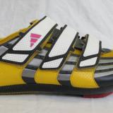 Echipament Ciclism - Pantofi ciclism de sosea marca ADIDAS, cu placute, marime 44- 45 EU (29 cm)