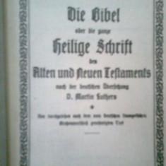 DIE BIBEL.. HEILIGE SCHRIFT -DAS NEUE TESTAMENT -MARTIN LUTHERS (BIBLIA GERMANA)