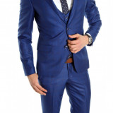 Costum tip ZARA - sacou + pantaloni - vesta costum barbati casual office - 6151