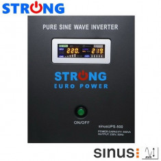 UPS 500VA 300W STRONG-500W pentru centrale termice