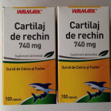 Cartilaj de Rechin, Walmark, 740 mg, 200 capsule, PROMO