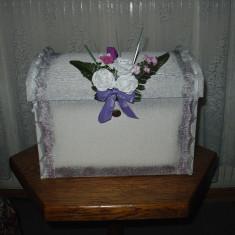 Decoratiuni nunta - Cufar dar nunta