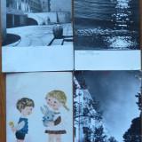 Lot de 61 carti postale Romania, RPR, cateva interbelice, vezi descrierea, Ambele, Romania de la 1950