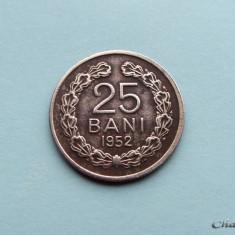Monede Romania, An: 1952, Cupru-Nichel - ROMANIA - 25 Bani 1952