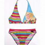 Costum de baie 2 piese Barbie multicolor