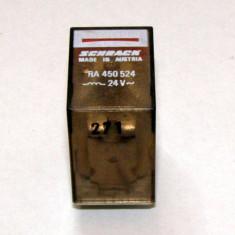 Releu Schrack RA450524 actionare 24 Vac cu 4 contacte no/nc 5A 250 Vac(507)