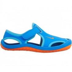 SANDALE NIKE SUNRAY PROTECT (PS) COD 344926-418 - Papuci dama Nike, Marime: 32, Culoare: Albastru