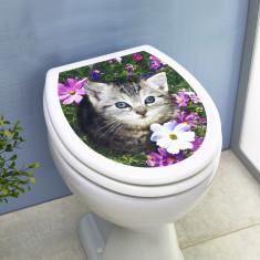Figurina de gradina - Decoratiune capac WC