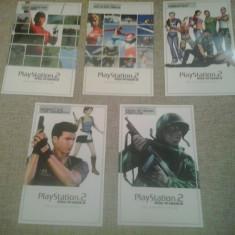 Afis - Playstation 2 Official Cheat Card - set de 5