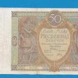 bancnota europa - Polonia 50 zloti 1929 7