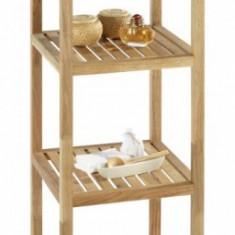 Mobilier - Dulapior lemn 4 rafturi pentru baie