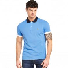 Tricou barbatesc Lacoste Polo Regular Fit Albastru Danie - Marime XS, S, M, L - Tricou barbati Lacoste, Culoare: Din imagine