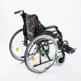 Scaun cu rotile - Carucior handicap pliabil cu detasare rapida a rotilor Ortomobil 040202 - 48 cm