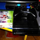 Xbox 360 Microsoft - Xbox360+kinect+2controllere+jocuri