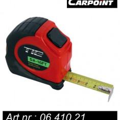 Ruleta Carpoint 5 metri cu protectie si blocatori - Ruleta masura