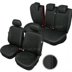 Husa Auto - Huse scaune auto imitatie piele Seat Exeo set huse fata + spate