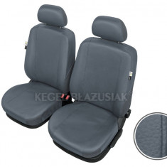 Husa Auto - Huse scaune auto imitatie piele BMW X5 set huse fata Culoare Gri
