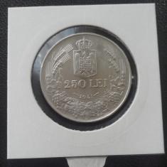 Monede Romania, An: 1941, Argint - 250 lei 1941 AUNC