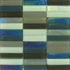 Masa gradina - MOZAIC STICLA MIXED GREY 29.8x29.8