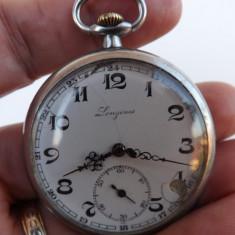 Ceas de buzunar Elvetian, marca Longines.Functioneaza perfect. - Ceas de buzunar vechi