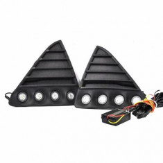 DRL - Kit proiectoare LED auto NSSC Ford Focus