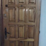 Usa apartament, lemn masiv, capitonata, toc inclus, gol zid 88 x 204