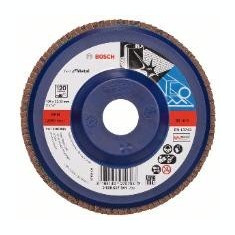 Disc de slefuire evantai Bosch X571 Best for Metal 125 mm 2223 mm 60