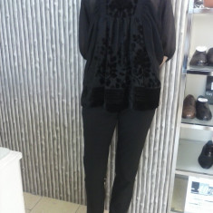 Bluza neagra eleganta H&M mas.S - Bluza dama H&m, Club