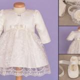 Set botez Baby Lace (Imbracaminte pentru varsta: 1-3 luni - 58 cm)