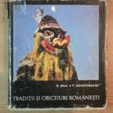 TRADITII SI OBICEIURI ROMANESTI. ANUL NOU IN MOLDOVA SI BUCOVINA de N. JULA, V. MANASTIREANU, 1968 - Carte traditii populare
