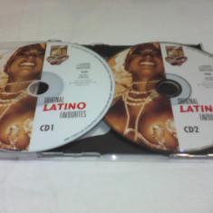 DUBLU DISC ORIGINAL LATINO FAVOURITES DOUBLE GOLD FARA COPERTA - Muzica Latino, CD