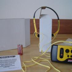 Walkman SPORTLINE AM-FM radio portabil (set de 2 bucati NOI) - Aparat radio