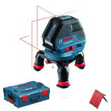 Nivela optica - BOSCH GLL 3-50 Nivela laser cu linii + L-BOXX 0601063801