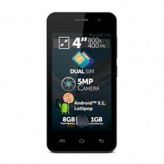 Smartphone Allview A5 Easy 8GB Dual Sim Black - Telefon Allview
