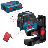 Nivela optica - BOSCH GCL 25 + BM 1 Professional Nivela laser cu linii/puncte + Suport...