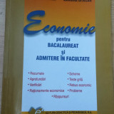 Teste admitere facultate - Economie pentru bacalaureat si admitere in facultate