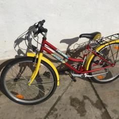 Bicicleta de oras, 16 inch, 24 inch, Numar viteze: 21 - 15 Bicicleta treisfert Puch second-hand, Germania R24