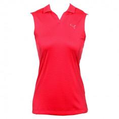 Tricou Dama Puma Sport Golf Fara Maneci Cod Produs E802 - PRET MIC, Marime: XS, S, M, Culoare: Din imagine, Fara maneca, Poliester
