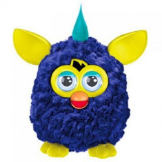 Surpriza Kinder - Jucaria Furby - interactioneaza cu telefoane IOS si Android - culoare albastru