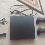 Vand PS3 320GB SLIM +2 controllere +9jocuri +cablu HDMI