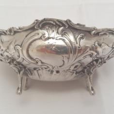 Bomboniera repousse din ARGINT MASIV Germania secolul 19!Expertizata si marcata, Ornamentale