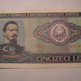 50 lei 1966 AUNC