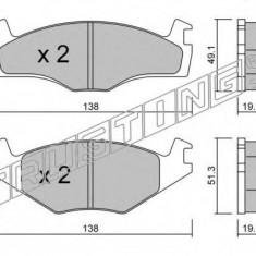 Placute frana INA VW CARIBE I 1.6 TD - TRUSTING 047.1