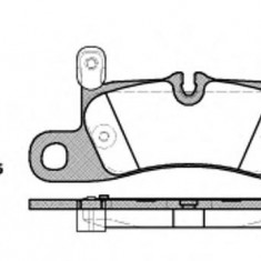 Placute frana Trw PORSCHE CAYENNE 4.8 Turbo - ROADHOUSE 21379.20