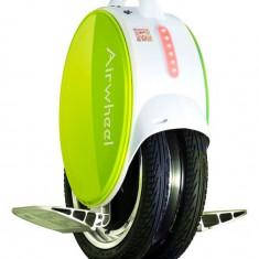 Monociclu electric cu doua roti Airwheel Q5 Green - Trotineta copii
