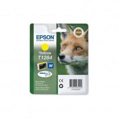 Consumabil Epson Cartus Singlepack Yellow T1284