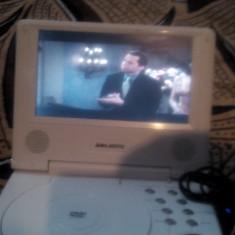 Dvd Player Portabil Majestic cu stick usb/card alimentator, telecomanda